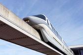 モノレールの列車 — ストック写真