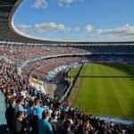 Постер, плакат: BUENOS AIRES ARGENTINA MAR 10: Argentina classics FC Ricing v