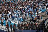 BUENOS AIRES, ARGENTINA - MAR 10: Argentina classics FC Ricing v — Stock Photo