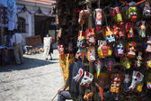 Souvenirs auf dem markt in chichicastenango, guatemala — Stockfoto
