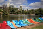 Park Rosedal in Buenos Ayres — Stock Photo