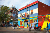 BUENOS AIRES MAY 01: Colorful Caminito street in the La Boca, Bu — Stock Photo