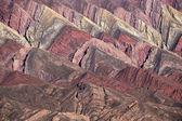 山的14色,克夫拉达的humahuaca,北部arg — 图库照片