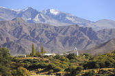 Mountain village Cachi, Valles Calchaquíes, Salta, Northern Arg — Stock Photo