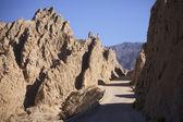 Canyon Corte, Quebrada de las Flechas, Salta, Argentina — Foto de Stock