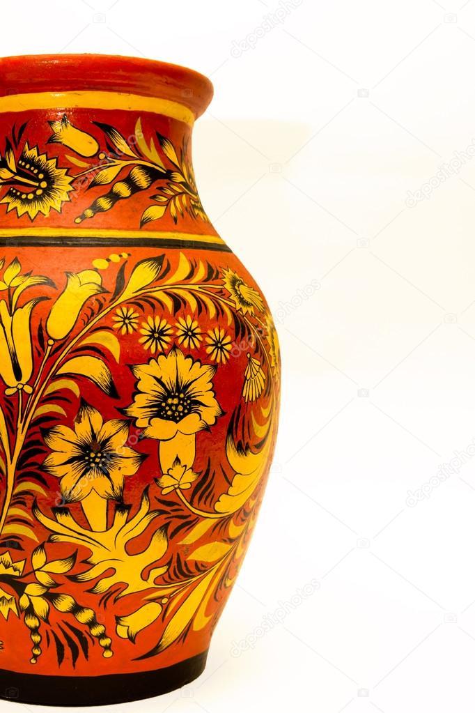 Глиняная роспись картинки