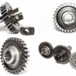 Gears collage — Stock Photo