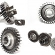 Stock Photo: Gears collage