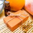 Natural soap, spa concept — Stock Photo #17151719
