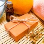 Natural soap, spa concept — Stock Photo #17151719