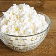 cottage cheese&quot — Stock Photo