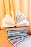 Kitap yığını — Stok fotoğraf