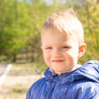 Smiling boy (child) — Stockfoto