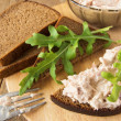 Tuna sandwich — Stock Photo