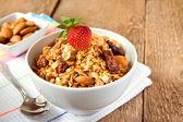 Muesli breakfast — Stock Photo