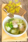свежий суп — Стоковое фото