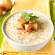 Oatmeal porridge with apple — Stock Photo #29654145