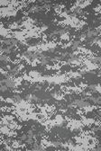 US army urban digital camouflage fabric texture background — Stock Photo