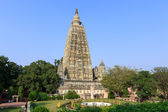 Mahabodhi temple, bodh gaya, India. The site where Gautam Buddha — Stock Photo