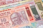India rupee money banknote close-up — Stock Photo