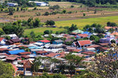 Aerial view of a village in Lopburi, Thailand — Stock Photo
