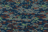 Thai air force digital camouflage fabric texture background — Stock Photo