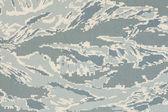US air force digital tigerstripe abu camouflage fabric texture b — Stock Photo