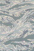 US air force digital tigerstripe abu camouflage fabric texture b — Stock Photo