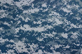 US navy digital camouflage fabric texture background — ストック写真