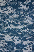 US navy digital camouflage fabric texture background — Stock Photo