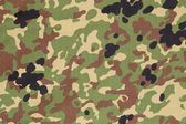 Japanese armed force flecktarn camouflage fabric texture backgro — Stock Photo