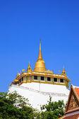 Altın dağ, antik bir pagoda bangko wat saket tapınağında — Stok fotoğraf