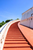 Stairway to the top of golden mountain in Bangkok, Thailand — Stock Photo