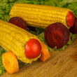 Finish vegetable car - Stock Photo