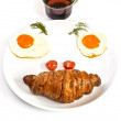 "Breakfast ""Smile"" — Stock Photo"
