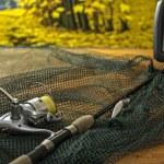 Equipment for fishing — Stock Photo