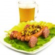 "Snack to beer ""cart"" — Stockfoto"