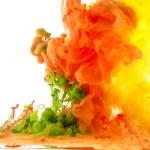 Abstracción gotas de color — Foto de Stock