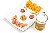 Beer snack Smile — Foto de Stock
