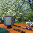 Stock Photo: Set for spring fishing