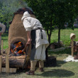 Stock Photo: Historical Festival in Moscow, Kolomenskoye Park.
