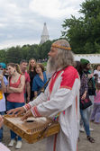 Historical Festival in Moscow park Kolomenskoe — Stock Photo
