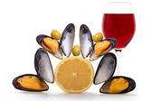 Season oysters — Stock Photo