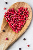 Pepper heart — Stock Photo