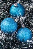 Modré koule — Stock fotografie