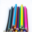 Stock Photo: Coloured pencils