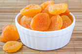 Dried apricots — Stock Photo