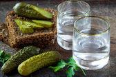 Ruská vodka — Stock fotografie