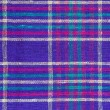 Stock Photo: Plaid textiles as background