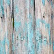 Stock Photo: Wooden green battered background